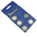 DIAMOND DISC SET 5PCS SET W/MANDREL